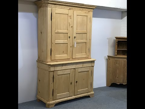 Stunning 19th century French Housekeepers Cupboard - Pinefin
