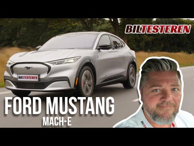 Åh ja, og lidt øv! Ford Mustang Mach-E (test)