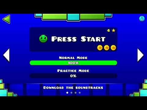Geometry Dash - Press Start - 1 Hour Version (Find the Easter Egg!)