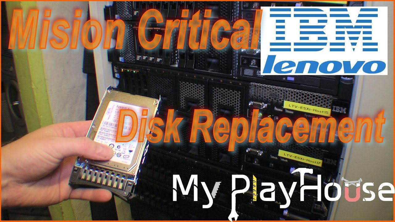 IBM x3650 M3 My Mision Critical server, has bad disk - 234