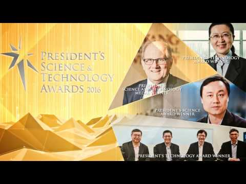 President's Science and Technology Awards 2016