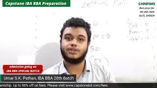 IBA BBA Math Solving