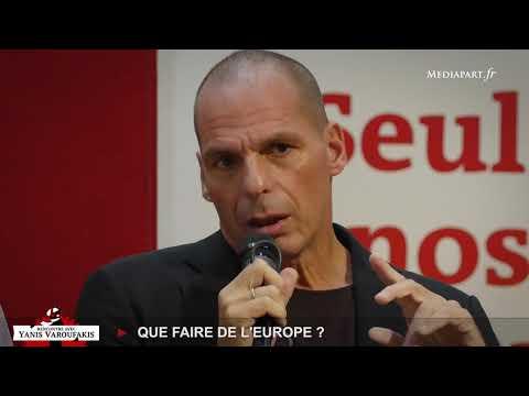 Rencontre avec Yanis Varoufakis : que faire de l'Europe ?