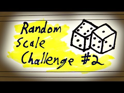 A Scale No One's Ever Used Before (Probably?)
