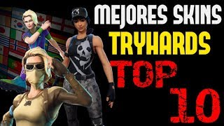 FORTNITE'S BEST TRYHARD SKINS - TOP 10
