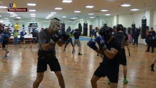 Сборная Украины по боксу провела открытую тренировку