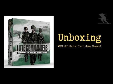 Company of Heroes: Elite Commanders Collection - Unboxing |