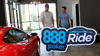 Behind the Scenes: 888poker Ride (Michael Mizrachi)