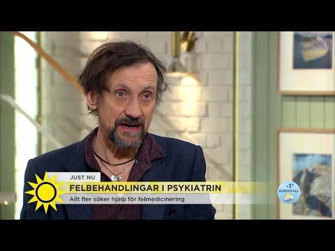"""�kterna av antidepressiva medel ytterst svaga"""" - Nyhetsmorgon (TV4)"""