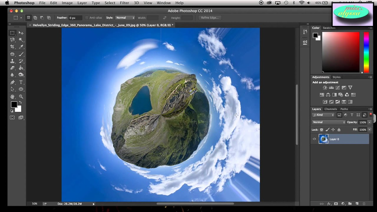 Make Your Own Planet (Photoshop Tutorial) - YouTube