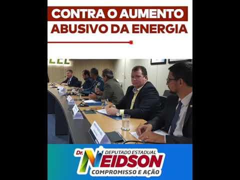 Vídeo: Na Aneel Dr. Neidson exige o fim do aumento da tarifa em Rondônia