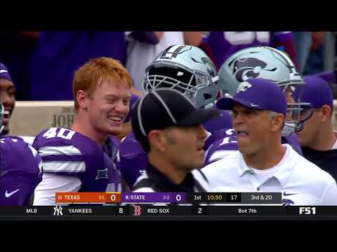 2018 - Game 5 - #18 Texas @ Kansas State