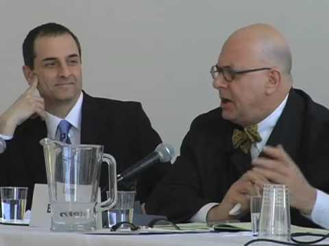 2) Higher Education and Sustainability: Leon Botstein and Andrew Revkin
