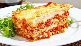 Лазанья рецепт Как приготовить лазанью lazania lasagne рецепт лазаньи лазанья с фаршем класическая