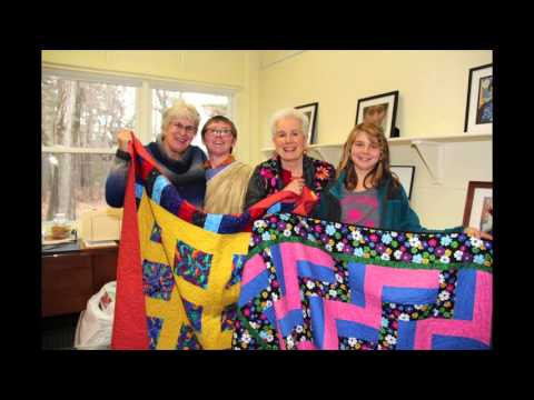 Spaulding Youth Center Thanks the Belknap Mill Quilters Guild