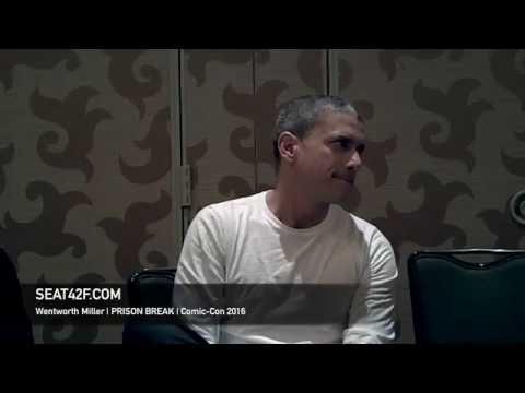 Wentworth Miller PRISON BREAK Interview Comic Con 2016