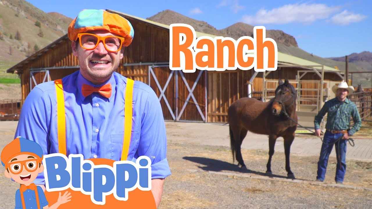 Learning Farm Vehicles and Animals With Blippi | Educational Videos For Kids