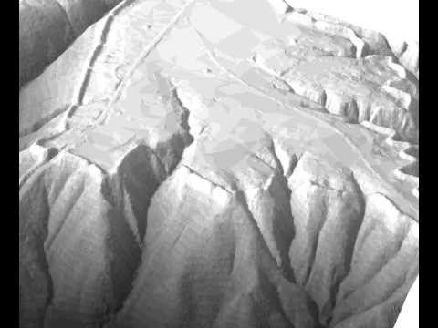 Fort Ancient LiDAR-based test animation, lowres