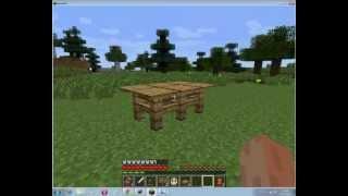 Как сделать стол в minecraft(Как сделать стол в minecraft, видео инструкция, подробнее фото и описание читайте на сайте http://craftwiki.ru/kak-sdelat-stol-v-mi..., 2013-01-03T11:32:32.000Z)