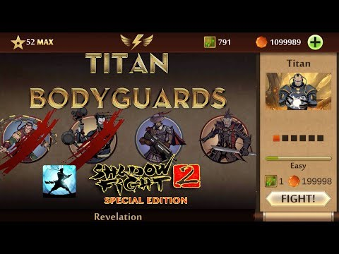 Shadow Fight 2 Special Edition Mod | TITAN Bodyguards Android Gameplay