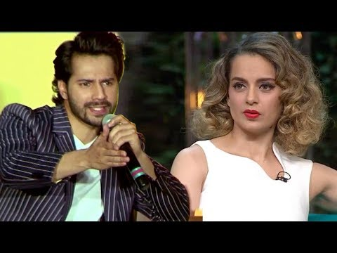 Varun Dhawan's BEST Reply To Kangana's Nepotism Comment On Koffee With Karan Season 5
