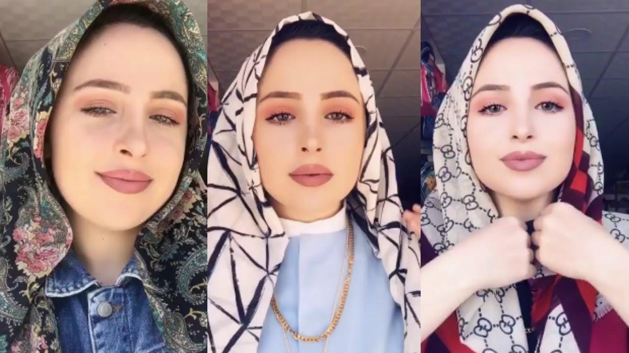 شاهد حصريا اخر صيحات موضة لفات حجاب Hoouri