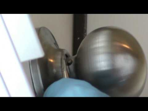 How to tighten a YALE passage knob.