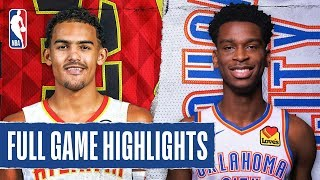 Download HAWKS at THUNDER | FULL GAME HIGHLIGHTS | January 24, 2020 Mp3 and Videos