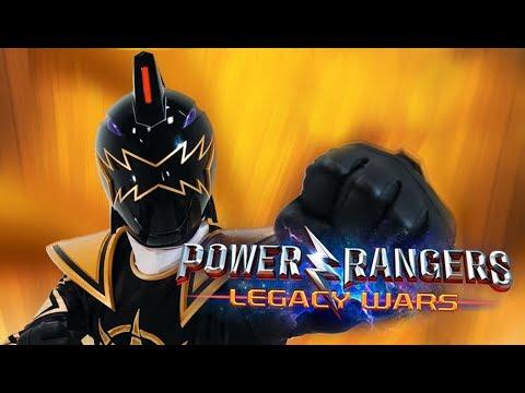 Dino Thunder Black Ranger Gameplay (Power Rangers Legacy Wars)
