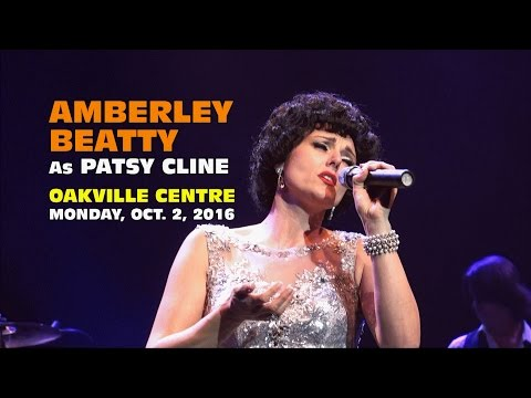 Amberley Beatty Tribute To Patsy Cline Oakville Centre 2016