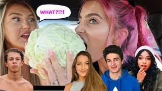YOUTUBERS CHOSE WHAT I EAT FOR THE DAY!!!!