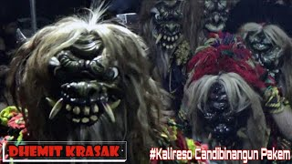 Gambar cover Rampak Buto DHEMIT KRASAK Live Di KALIRESO CANDIBINANGUN PAKEM 2019