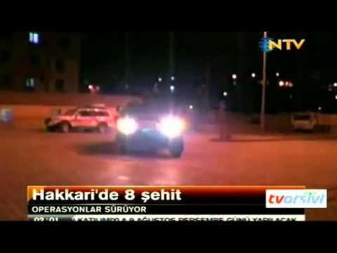SKANDAL  NTV Spikeri Nur Tuğba Algül şehit haberini sunduktan sonra şarkı söylüyor
