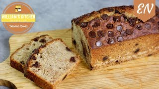 Super Moist Banana Bread Recipe || William's Kitchen