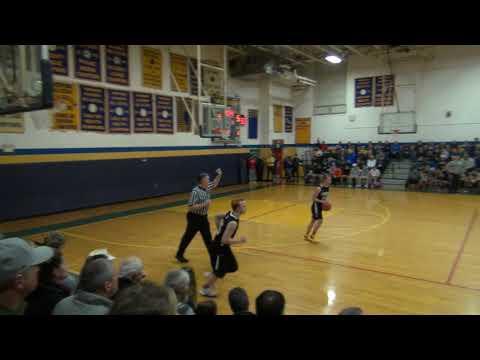 Hopkins Academy Boys Basketball - Hawks vs Panthers February 19, 2019
