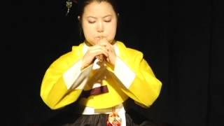 진윤경/ 박범훈류 피리산조( piri sanjo/ Jin, yun-kyong)