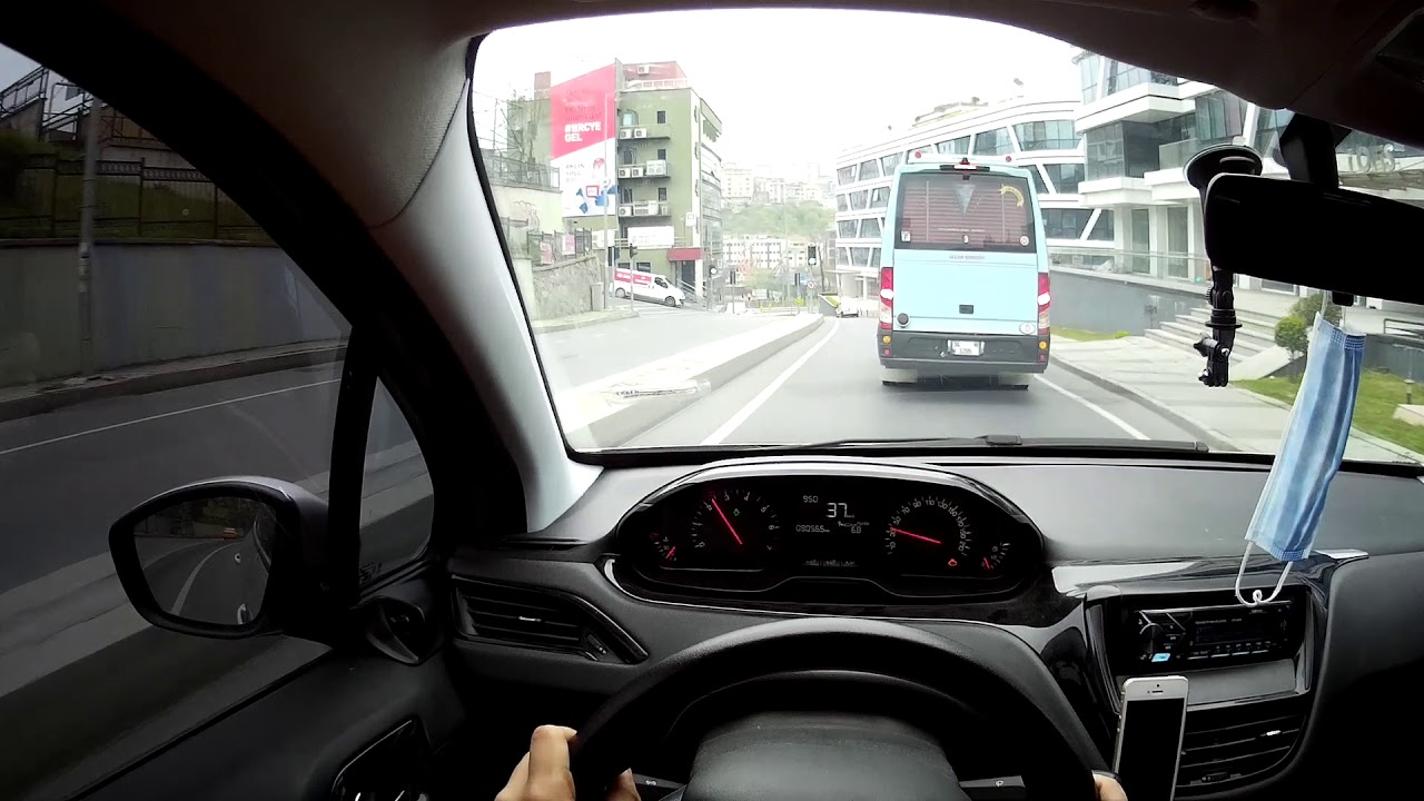 Peugeot 208 1.2 VTI Manuel POV DRIVE ( Karantina Days)