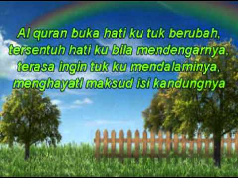 Diya' - Al Quran Petunjuk & Penawar [ BACKGROUND MUSIC BY TEGAR