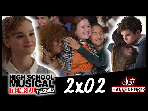HSMTMTS 2x02 Recap - Beauty & The Beast Auditions & The New Girl (High School Musical Series)