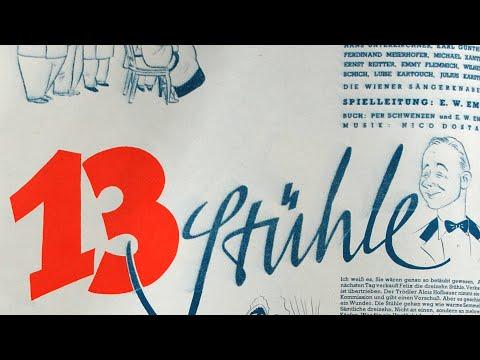 Vorschaufilm 13 Stühle Von 1938 Youtube