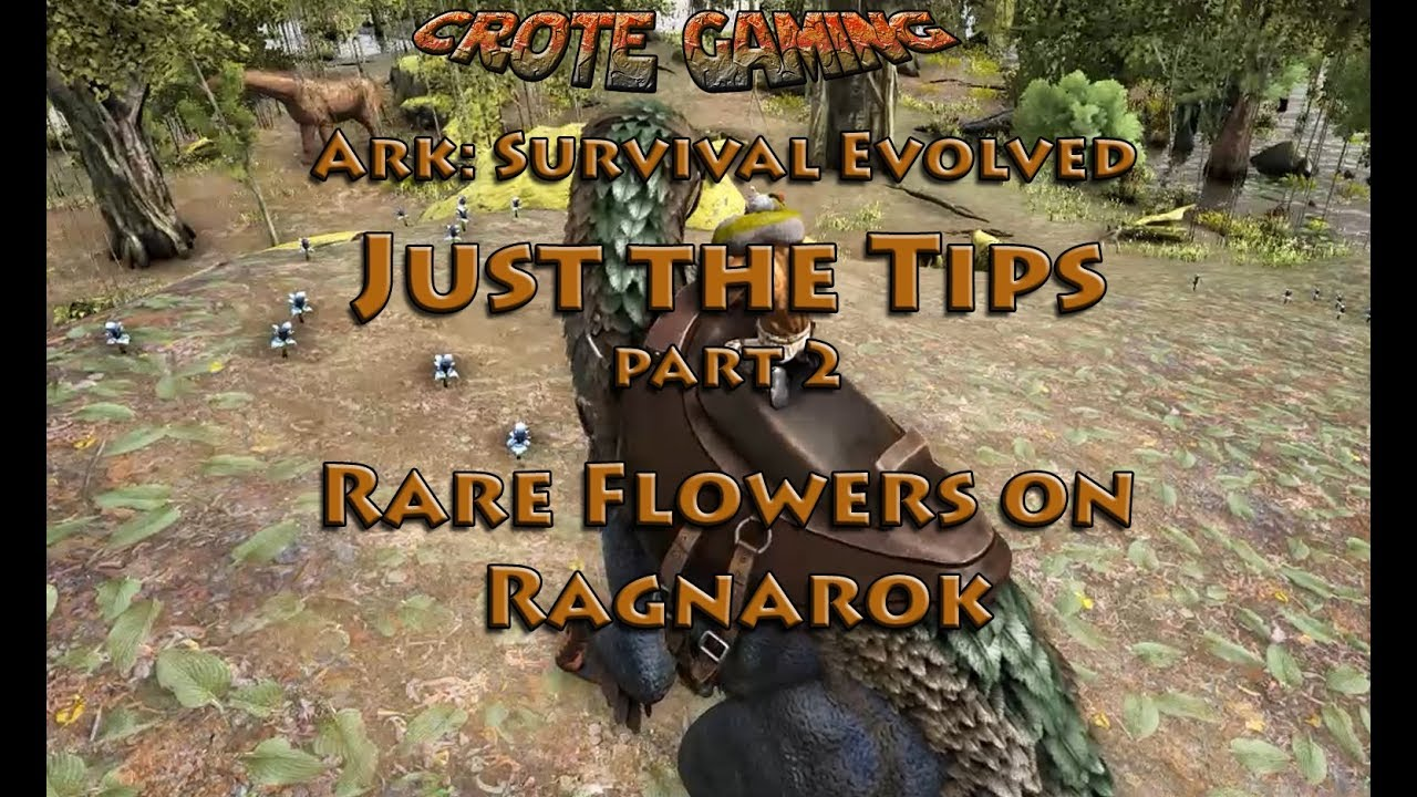 Just the Tips: Rare Flowers on Ragnarok - YouTube