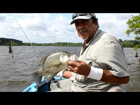 Summer Time Jigging For Crappie 2017 - Crappie Fishing