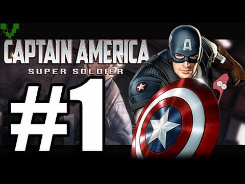 Captain America Super Soldier W/ Commentary P.1 - GAME OF THE CENTURY!