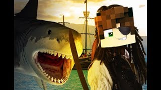 PIRATES AGAINST THE SHARK! | Minecraft, Brawlhalla, Roblox
