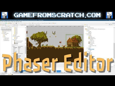 Phaser Editor -- A Level Editor and IDE for Phaser Game Development
