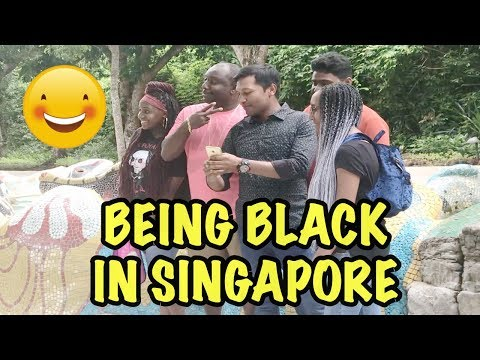 WHAT IT IS LIKE BEING BLACK IN SINGAPORE | SENTOSA ISLAND | VIVO CITY