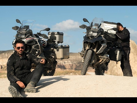 Adventure Travel in Cappadocia [Turkey] on BMW R1200GS Adventure