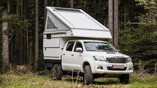 Toyota Hilux Camper im Test – Wie gut ist der Nestle Exkab 4s?