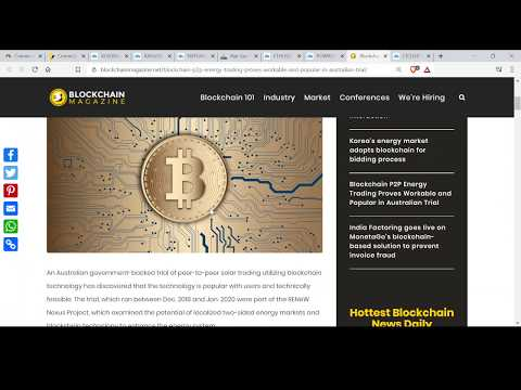 BTC Cryptocurrency Altcoins + Oil NatGas + Gold + Share Markets Updates ASX200 S&P 500 19 June 2020