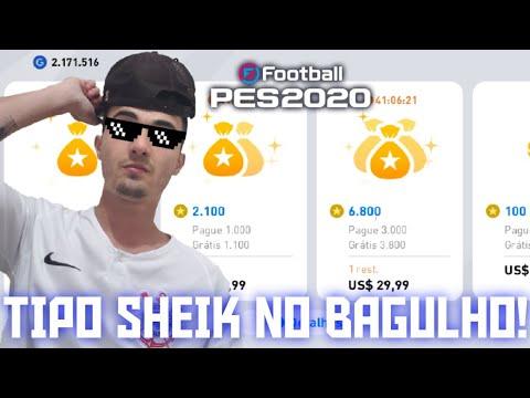 GASTANDO R$200 NO PES 2020 MOBILE! + 9 MIL MY CLUB - 동영상